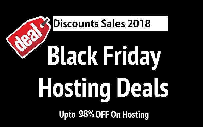 Best Black Friday Web Hosting Deals 2018
