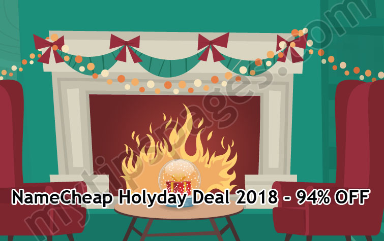 NameCheap Five Holiday Deal Days – up to 94% OFF